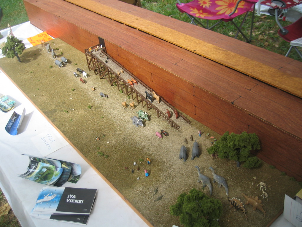 scale model of noah s ark
